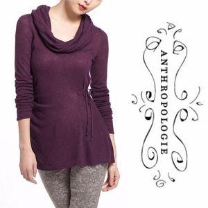 ANTHROPOLOGIE Rosie Neira Jemima Cowl Neck Sweater